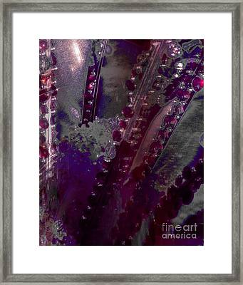 Abstract Jewels Framed Print by Doris Wood