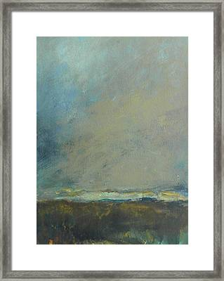 Abstract Landscape - Horizon Framed Print