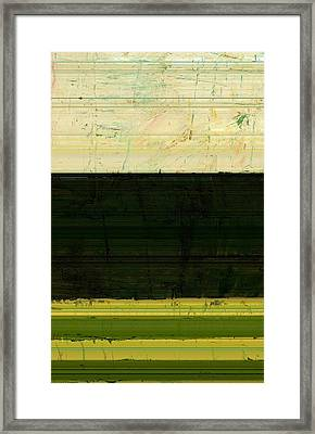 Abstract Landscape - The Highway Series Ll Framed Print