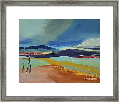 Abstract Landscape No.1 Framed Print