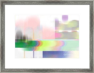 Abstract Landscape Framed Print by Sonali Gangane