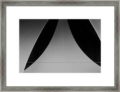 Abstract Leaves Framed Print by Onder Konuralp