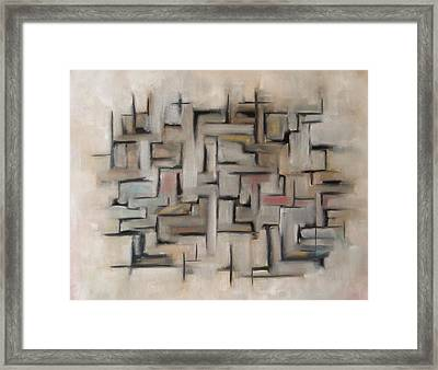Abstract Line I Framed Print