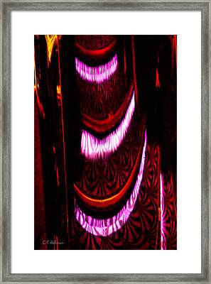 Abstract Magentas Framed Print by Christopher Holmes