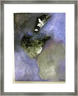 Abstract Framed Print by Montserrat Lopez Ortiz