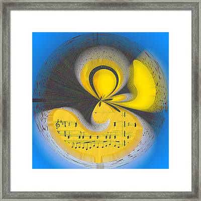 Abstract Music Framed Print