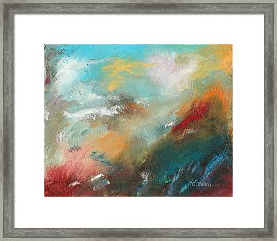 Abstract No 1 Framed Print