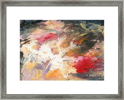 Abstract No 2 Framed Print