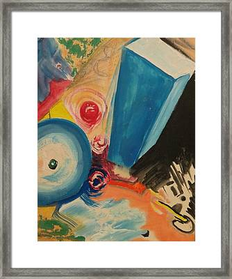 Abstract One Framed Print by Marcel Mateo