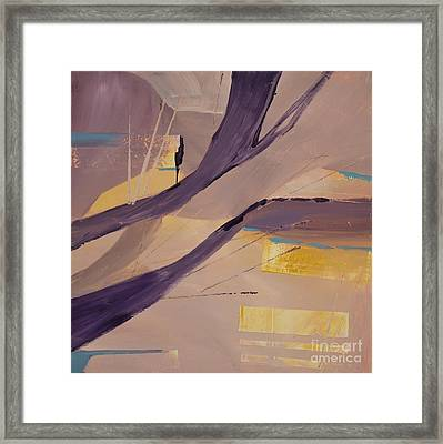 Abstract Orchard Framed Print