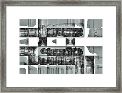 Abstract Framed Print by Pravin Tripathi