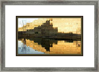 Abstract Reflections Framed Print
