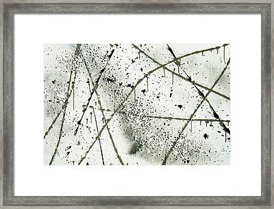 Abstract Remnants Of The Big Bang Framed Print