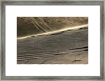 Abstract Sand 2 Framed Print by Arie Arik Chen