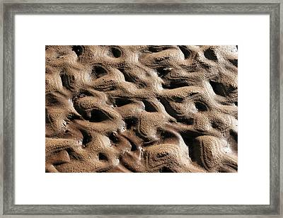 Abstract Sand 3 Framed Print by Arie Arik Chen