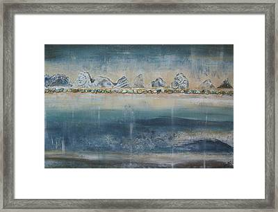 Abstract Scottish Landscape Framed Print