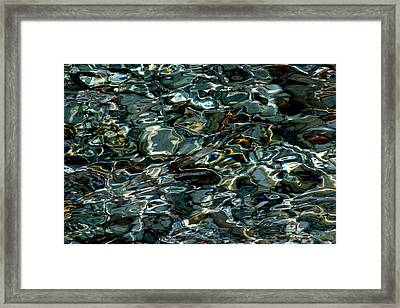 Abstract Sea 1 Framed Print by Arie Arik Chen