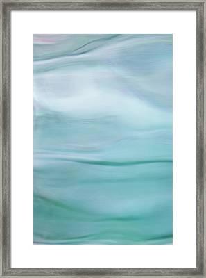 Abstract Seascape Framed Print by Elke Vogelsang