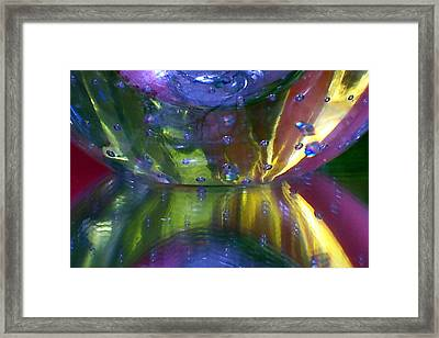Abstract Series 4 No.4 Framed Print by B L Hickman