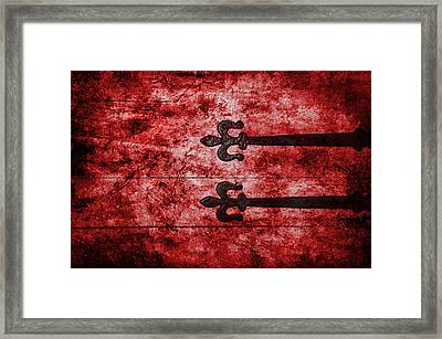 Abstract Shot Framed Print by Svetlana Sewell