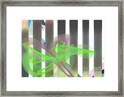 Abstract Silhouette Framed Print