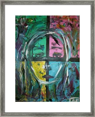 Abstract Sorrow Framed Print