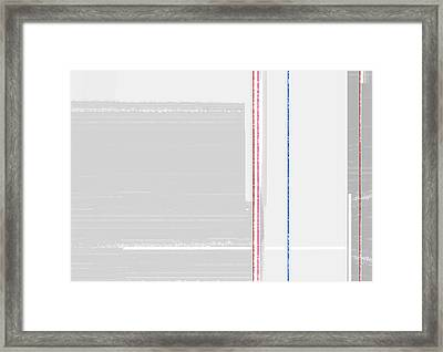 Abstract Surface Framed Print