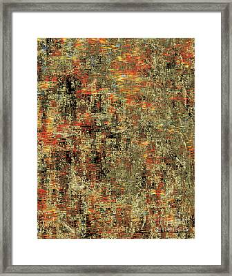 Artistic Confusion Framed Print