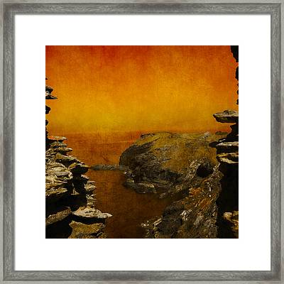 Abstract View Framed Print by Svetlana Sewell