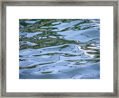 Abstract Waters I Framed Print