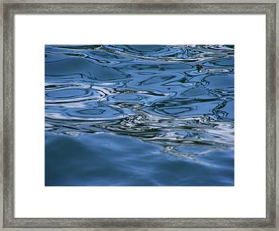 Abstract Waters II Framed Print