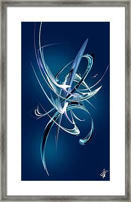Abstract Xli Framed Print by Pierre Louis TORET