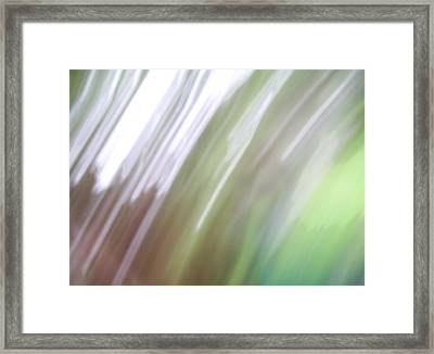 Framed Print featuring the photograph Abstracted Air by Ginny Schmidt