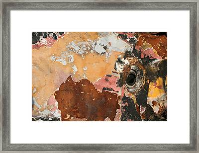 Abstraction Framed Print by Adeeb Atwan