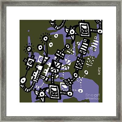 Abstraction Two Framed Print by Daniel Katz