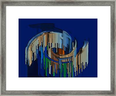 Abstracto 89478947894799 Framed Print by Rod Saavedra-Ferrere