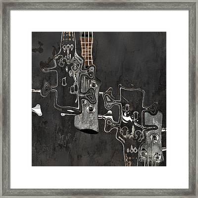 Abstrait En Do Majeur A2 Framed Print by Aimelle