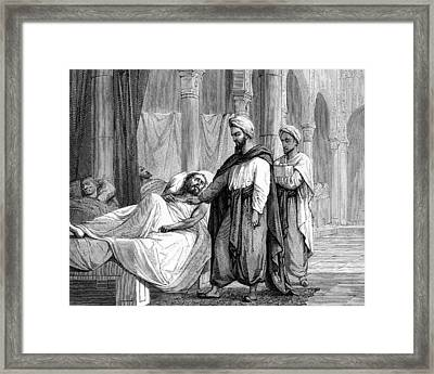 Abulcasis, Islamic Physician Framed Print by