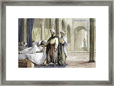 Abulcasis, Islamic Physician Framed Print by Sheila Terry