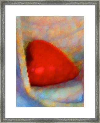 Framed Print featuring the digital art Abundant Love by Richard Laeton
