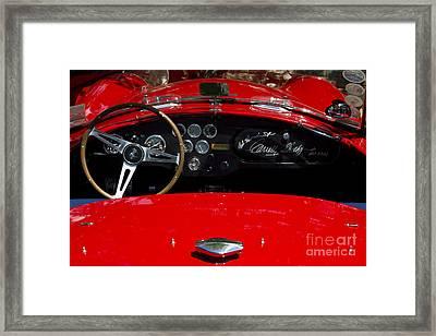 Ac Cobra Framed Print by Dennis Hedberg