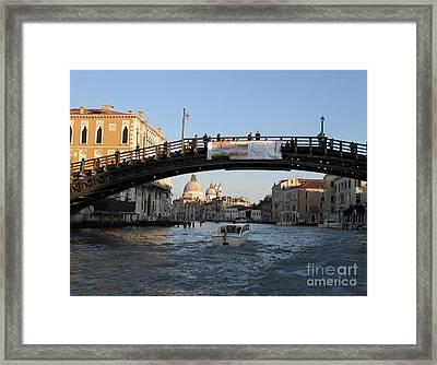 Academia. Venice Framed Print by Bernard Jaubert