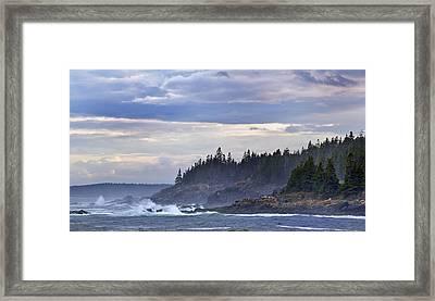 Acadian Cove Framed Print by Rick Berk