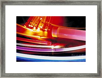 Accelerator Research Framed Print by DOE / Science Source