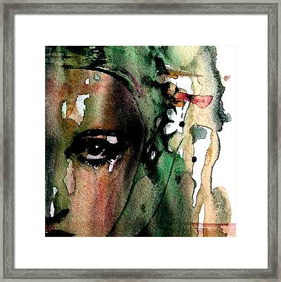Accept Me For What I Am  Framed Print by Paul Lovering