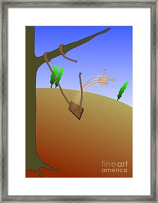Accident Framed Print by Michal Boubin