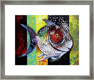 Acidfish 70 Framed Print by J Vincent Scarpace
