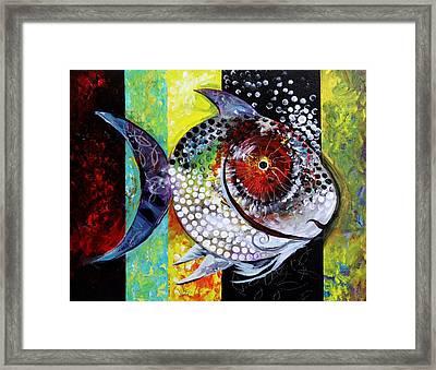 Acidfish 70 Framed Print by J Vincent Scarpace