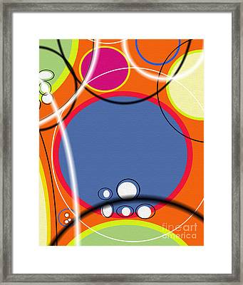 Acme Retro I Framed Print by Ricki Mountain