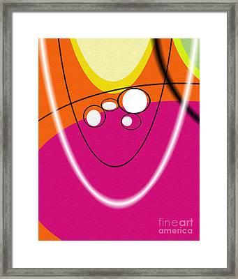 Acme Retro  Framed Print by Ricki Mountain